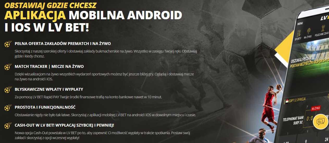LVbet aplikacja Androida